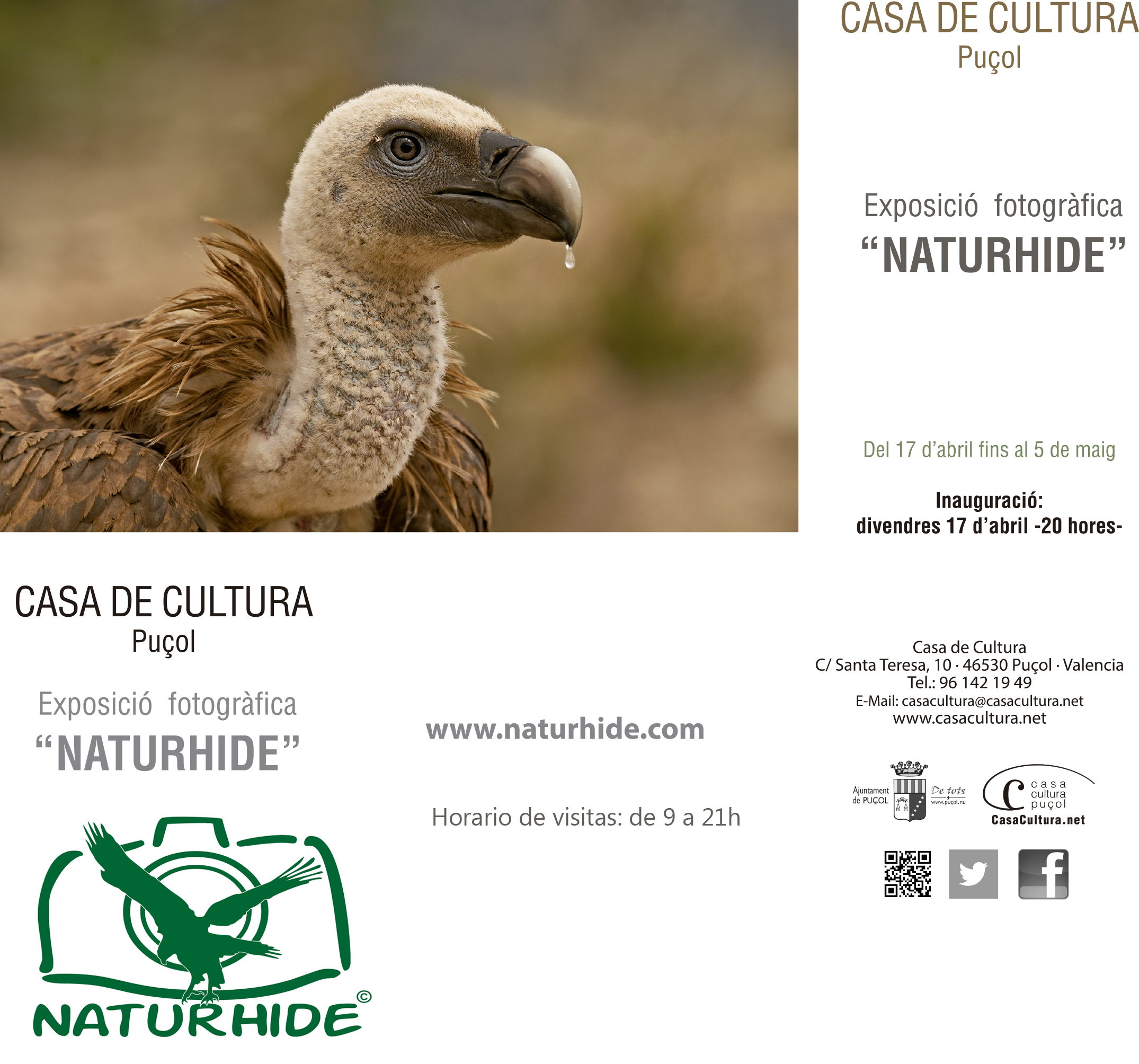 Expo Naturhide 17 Abril al 5 Mayo