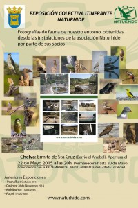 Anuncio Exposición itinerante Naturhide en Chelva