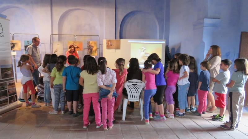 Visita escolares a la Exposición Naturhide Chelva